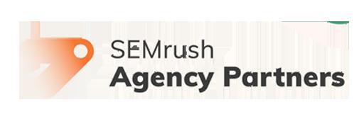 Site Footer - Semrush agency partners