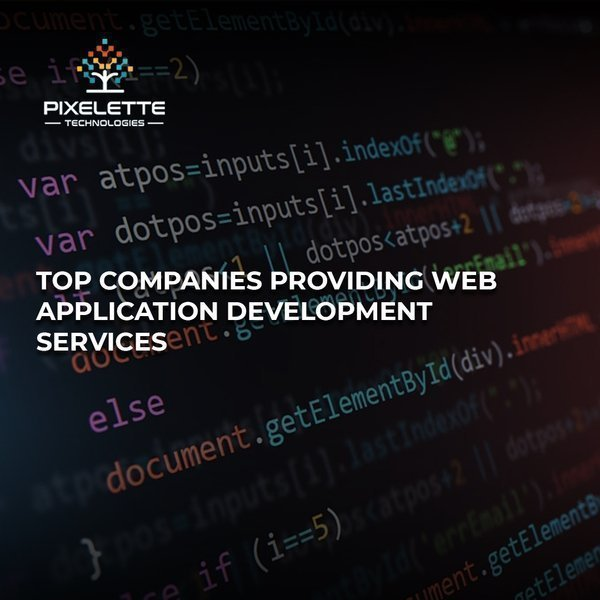 Web Application Development Services by Top 5 companies