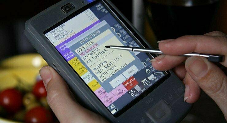 Managing Handheld order-taking devices