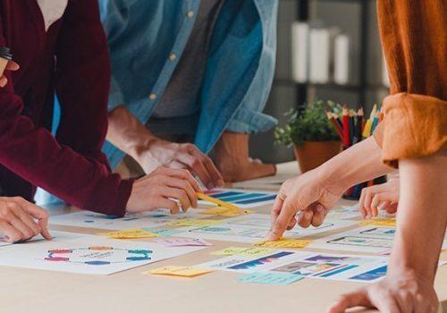 Seven essential steps of the Custom web design process