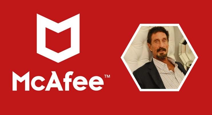 John McAfee US entrepreneur commits suicide.