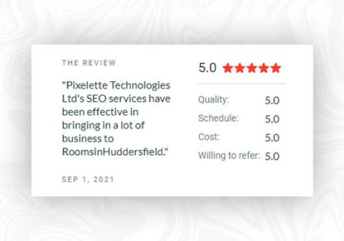 Pixelette Technologies First Clutch Review Is a Perfect Five-Stars