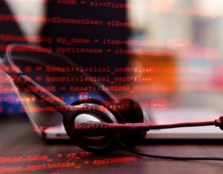 Deceiving recipient through a fraudulent call center.