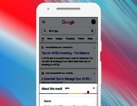 With 'About This Result', Google elaborates on ranking factors