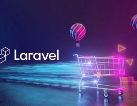 Laravel app design optimum for e-commerce.