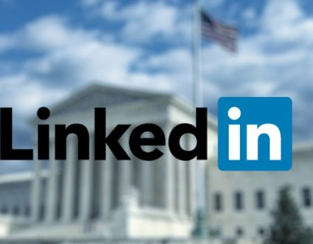 how did LinkedIn manage to overturn the court decision?