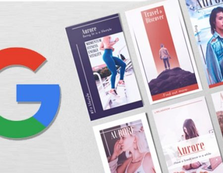 Google Show how to create web stories in 5 steps