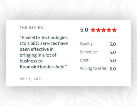 Top reasons why Pxelette Technologies is rated as a 5-star digital agency